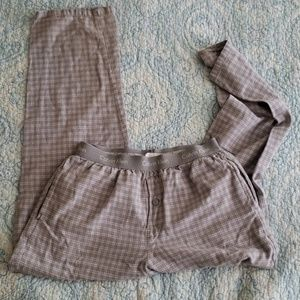 Sleep pants flannel grey